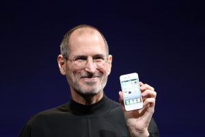 Steve Jobs of Apple: a world-renowned Innovator in his time.